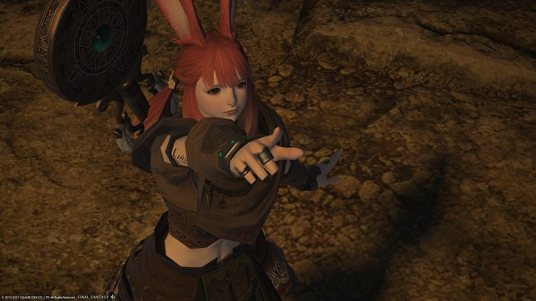 Final Fantasy XIV - A Sleep Disturbed - Pointing to something interesting