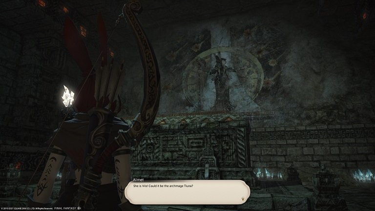 Final Fantasy XIV - Almet - She is Viis - Could it be the archmage Tiuna