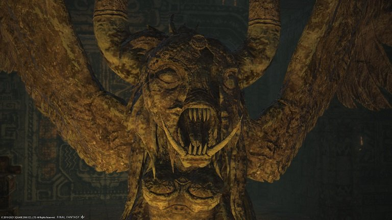 Final Fantasy XIV - Beast with large teeth