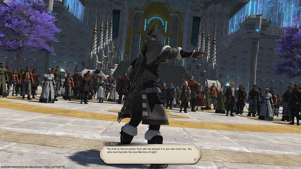 Final Fantasy XIV - Facing The Truth - Ardbert The time to rely on saviors from afar has passed