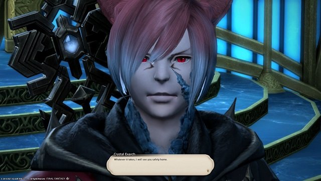Final Fantasy XIV The Way Home - Crystal Exarch - Whatever it takes I will see you safely home