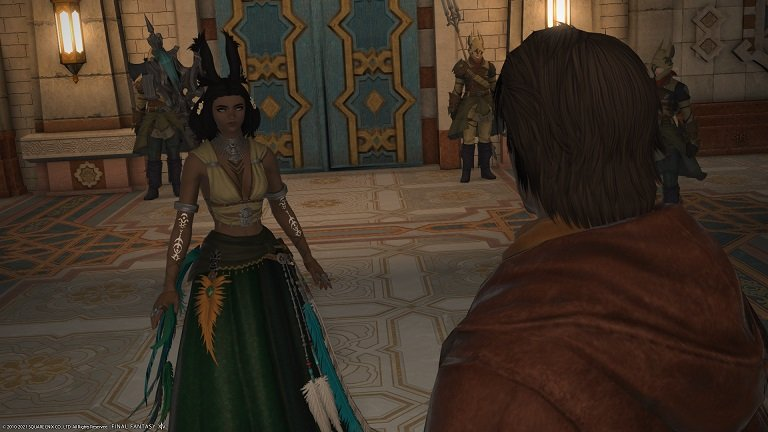 Final Fantasy XIV new mission Old Enemies, New Threats - Meeting with Gaius
