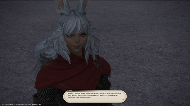 Final_Fantasy XIV - Lyna - But I see I give the wrong impression