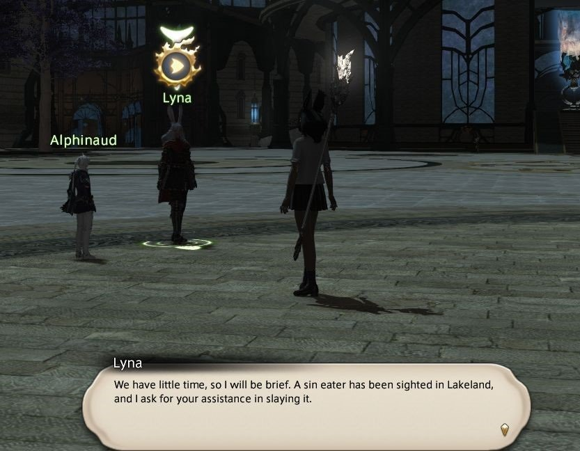 Final_Fantasy XIV - Lyna - We have little time so I will be brief
