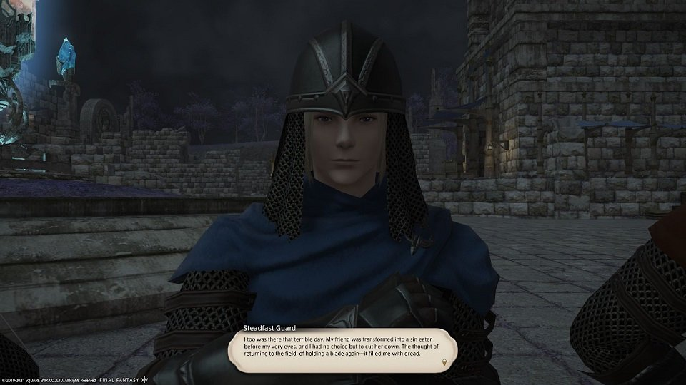 Final_Fantasy XIV - Steadfast Guard - I too was there that terrible day