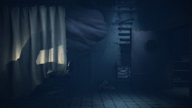 Little Nightmares 2 Game guide - Jump down on the switch powering off the light