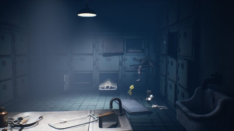 Little Nightmares 2 Game guide - Jump onto the platforms till the one with the fuse