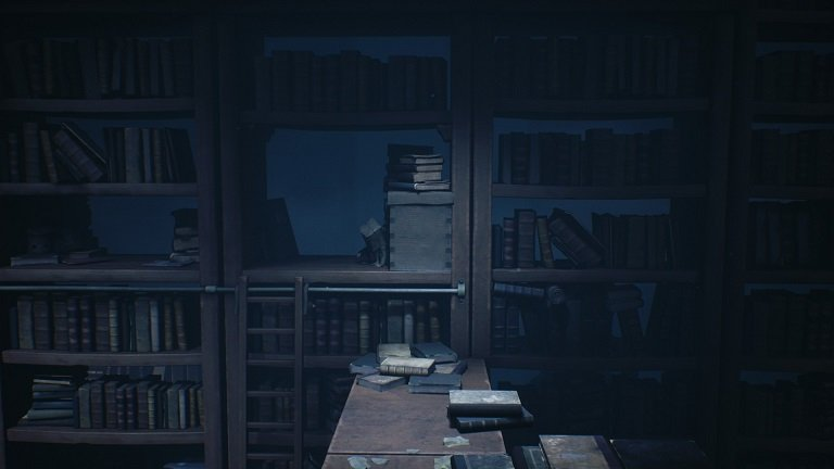 Little Nightmares 2 How To Slide - Sliding in the school library