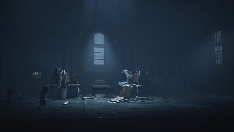 Little Nightmares 2 Walkthrough Game Guide - In room with mannequins