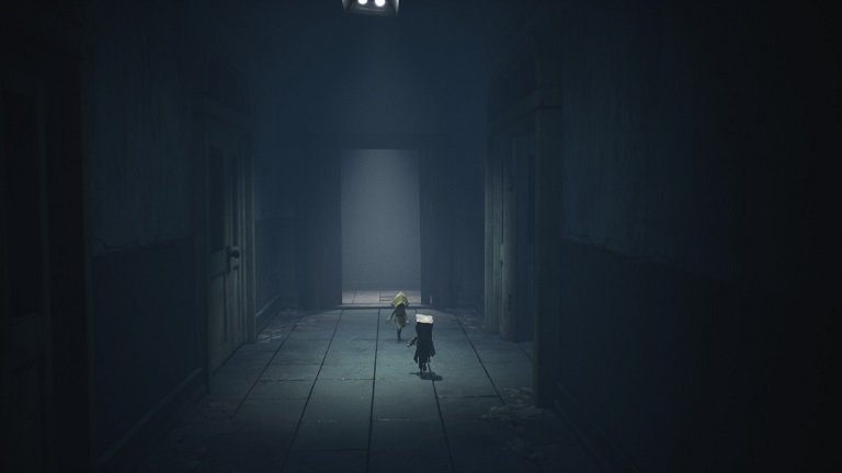 Little Nightmares 2 Walkthrough Game Guide - Leaving the Hospital Mono and Six