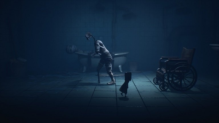 Little Nightmares II - Flashlight needed for solving wheelchair puzzle