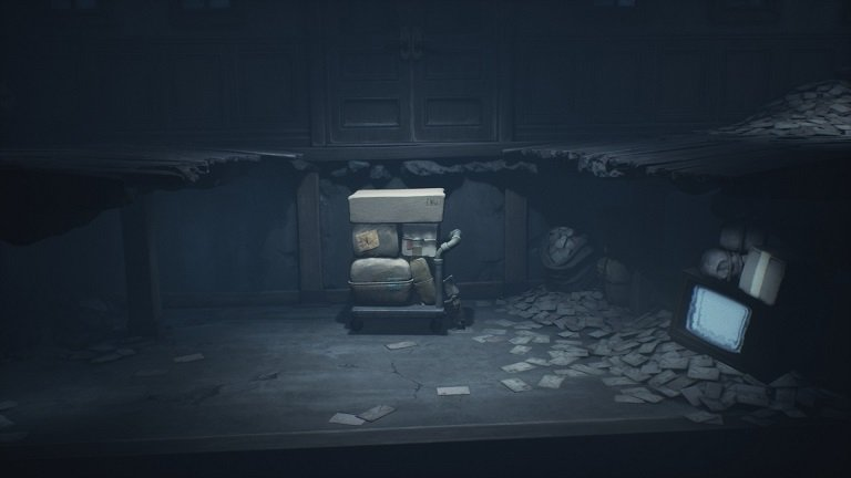 Little Nightmares II Game Guide - Grab to explore during video game play