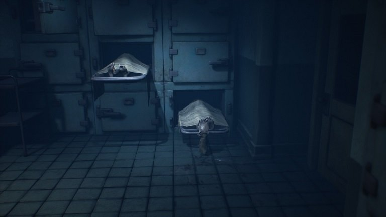 Little Nightmares II Hospital Walkthrough Guide – Continue using drawers as steps