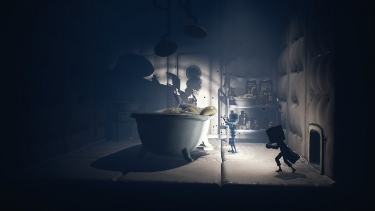 Little Nightmares II Hospital Walkthrough Guide – Entering a room with a ghost child