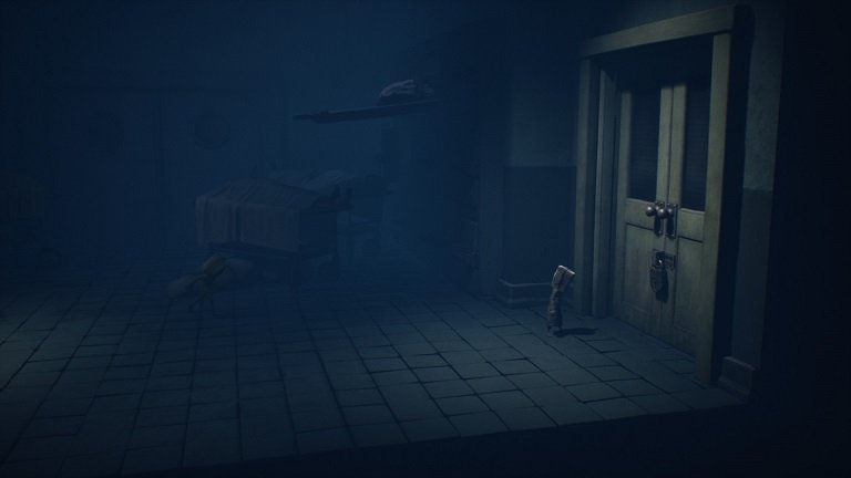 Little Nightmares II Hospital Walkthrough Guide – In front of door with lock