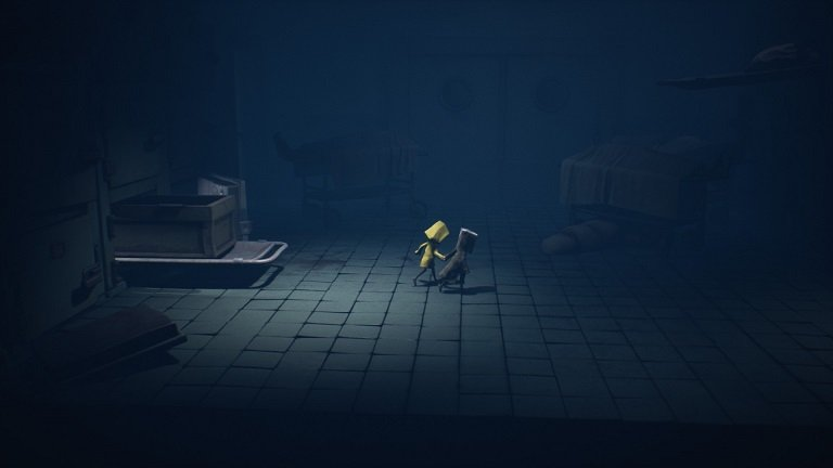 Little Nightmares II Hospital Walkthrough Guide – Mono and Six back together holding hands