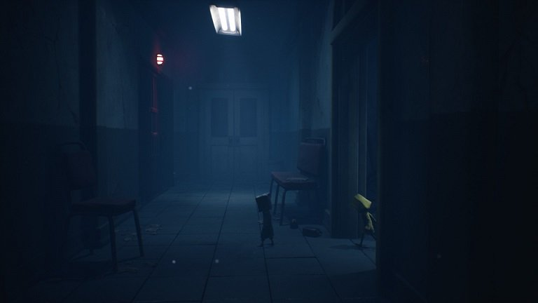 Little Nightmares II Hospital Walkthrough Guide – Mono can run to the red light