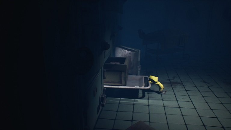 Little Nightmares II Hospital Walkthrough Guide – Mono in box Six pushes