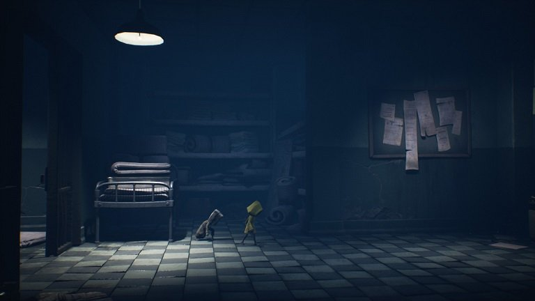 Little Nightmares II Hospital Walkthrough Guide – Past the Morgue Button Door