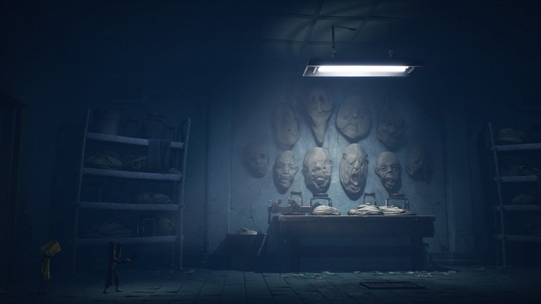 Little Nightmares II Hospital Walkthrough Guide – Room with faces made out of clay