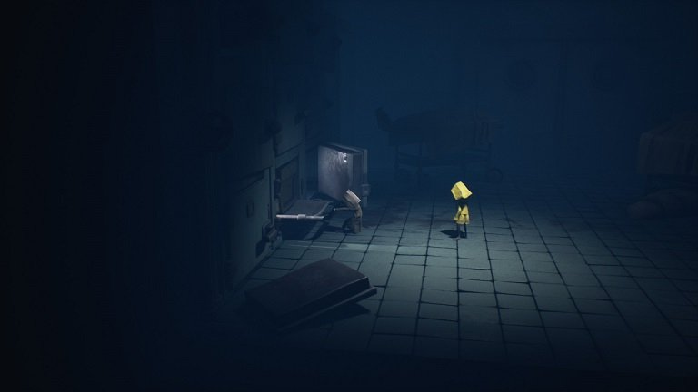 Little Nightmares II Hospital Walkthrough Guide – Searching through the cabinets for key
