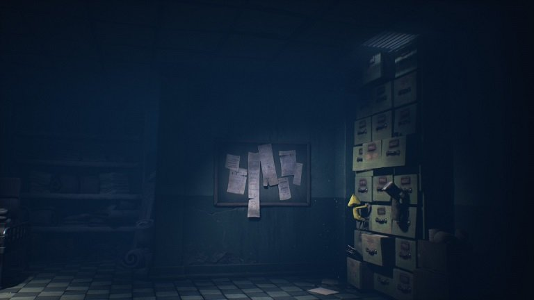 Little Nightmares II Hospital Walkthrough Guide – Walking on rightside of hallway