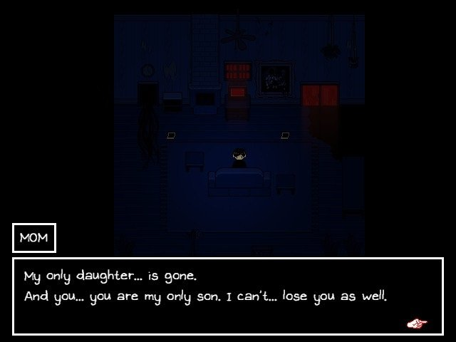 Omori Walkthrough Guide – MOM - My only daughter is gone and you are my only son