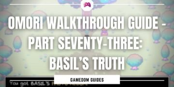 Omori Walkthrough Guide – Part Seventy-Three Basil's Truth