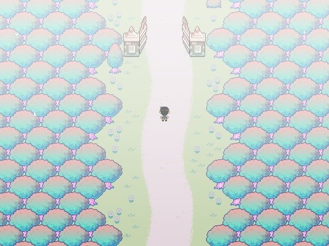 Omori Walkthrough Guide - The gate will open after picking up the photo