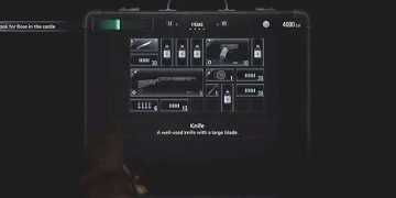 How to open the inventory in Resident Evil Village