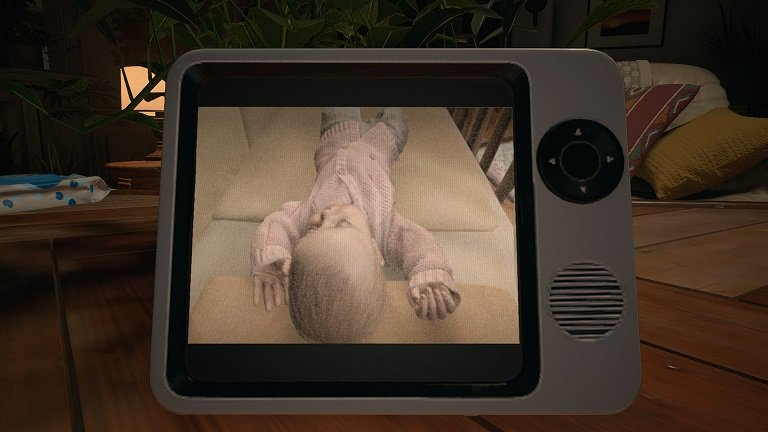 Resident Evil Village Walkthrough Guide – Part One - Baby Monitor View
