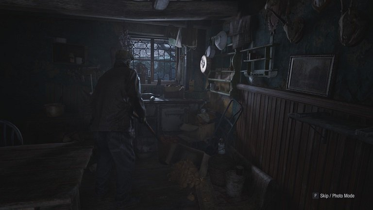Resident Evil Village Walkthrough Guide – Part Six - Ethan Searches For Bolt Cutters To Open Padlock