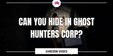 Can You Hide In Ghost Hunters Corp