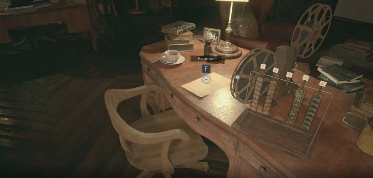 Note On Table Beside MovieProjector In House Beneviento