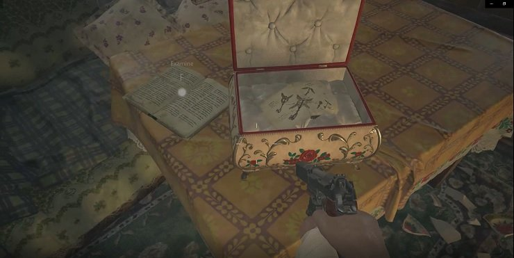 Note On Table OF House on the South of the Maiden of War statue
