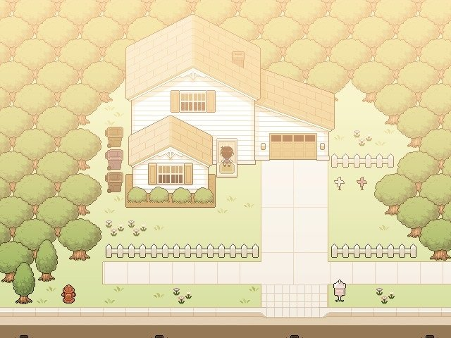 Omori Walkthrough Guide – Part Eighty - Basil in front of the house