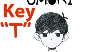 Where is the T key in Omori
