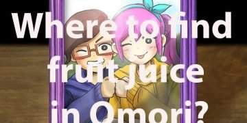 Where to find fruit juice in Omori?