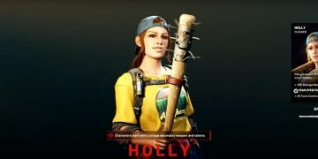Back 4 Blood Holly Character Bio