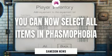 You Can Now Select All Items In Phasmophobia